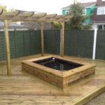 bassin jardin rectangulaire terrasse