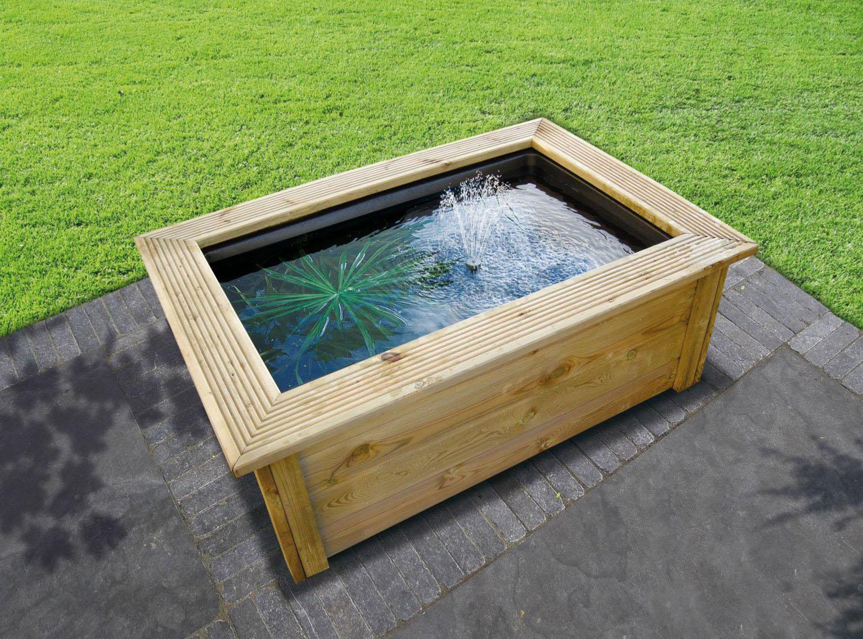 Utiliser un bassin pr form pour son bassin hors sol - Acheter bassin de jardin ...