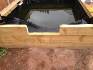 vitre bassin hors sol